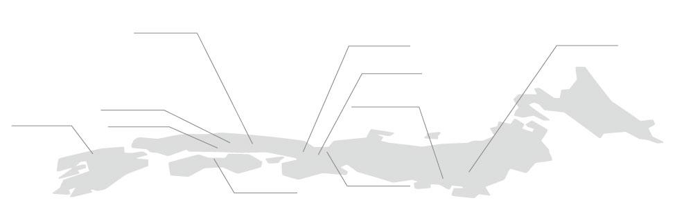 輸送事業部営業所マップ