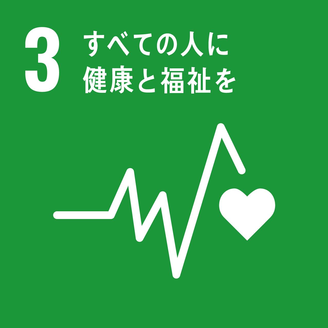 3:すべての人に健康と福祉を