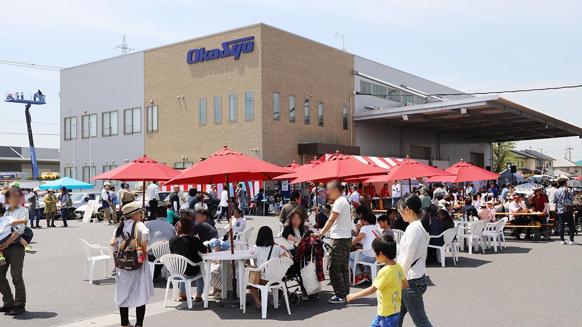Okasyo春祭り