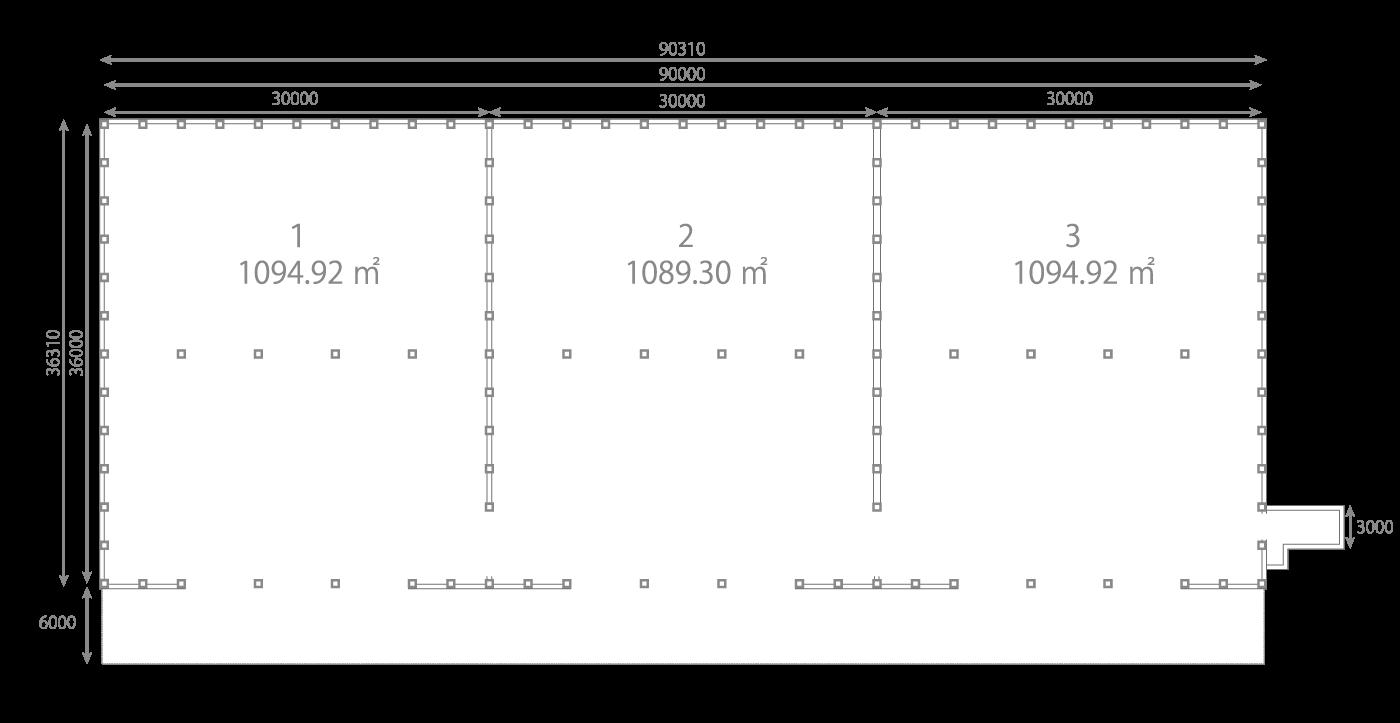 第一物流センター図面