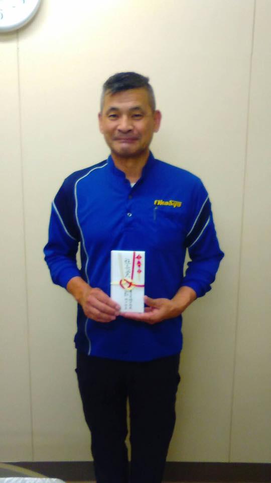 6月30日(木)、鳥栖営業所 春田ドライバーへ社長賞を表彰致