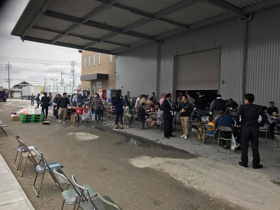 岡山本社にて盛大にバーベキュー大会を開催