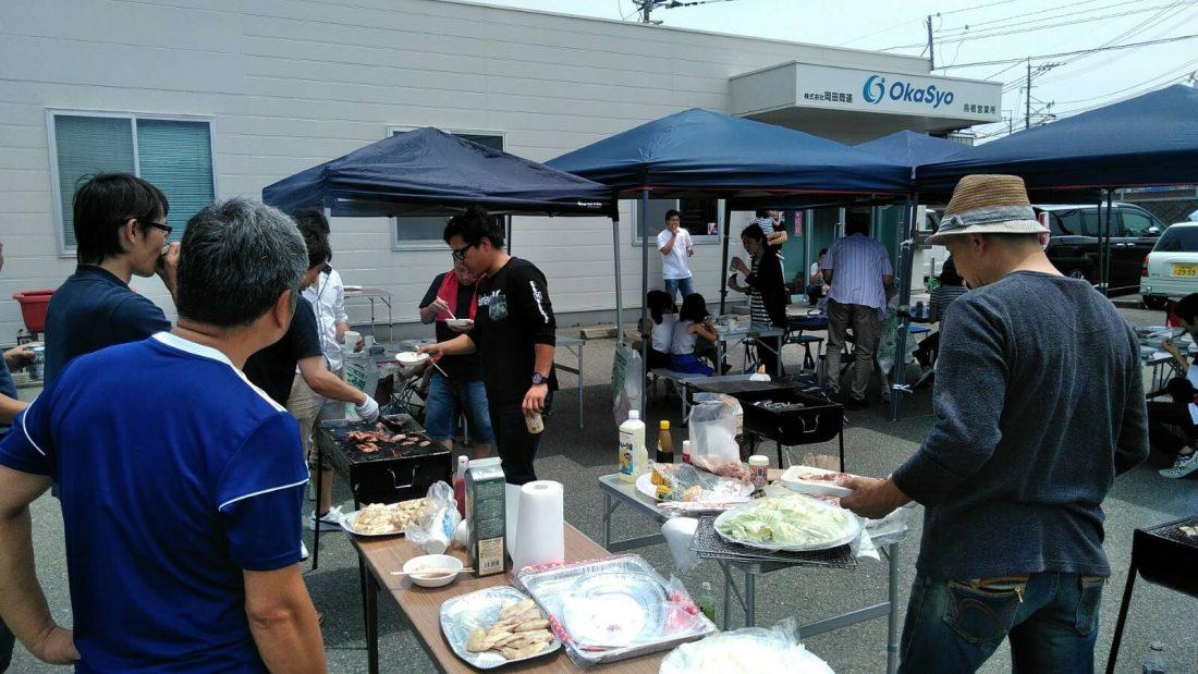 平成30年6月24日佐賀鳥栖営業所でバーベキュー大会を開催