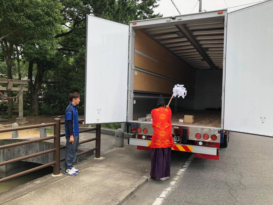 平成30年5月22日(先勝)本日岡山三菱ふそう西支店様から新車二台納車