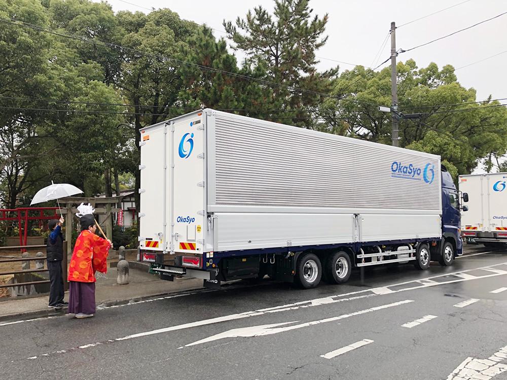 12月6日大型トラック納車