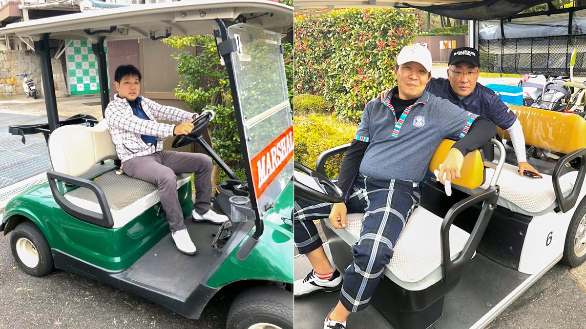 第四回岡田商運ゴルフコンペ
