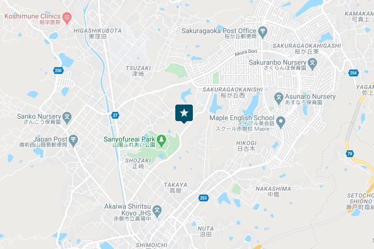 赤磐営業所アクセスマップ