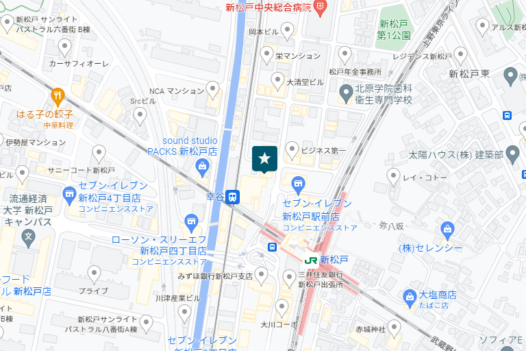 千葉情報センターアクセスマップ