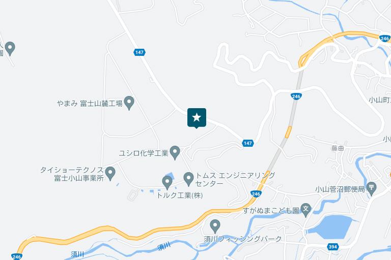 富士営業所アクセスマップ