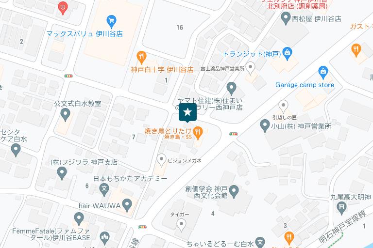 兵庫情報センターアクセスマップ