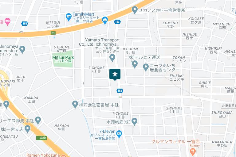 一宮営業所アクセスマップ