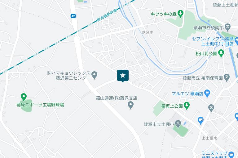 神奈川情報センターアクセスマップ