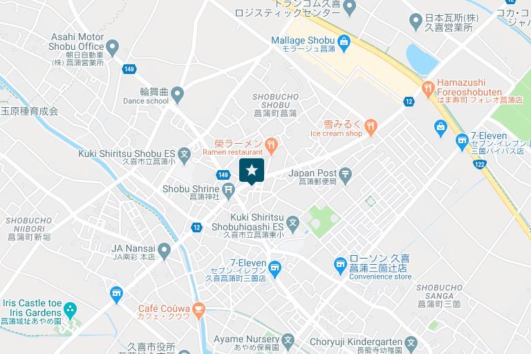 埼玉営業所アクセスマップ