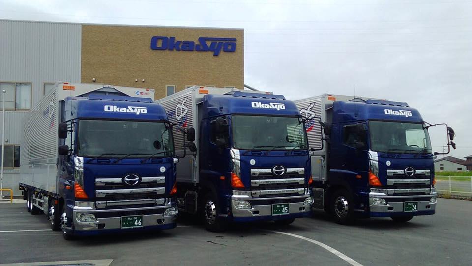 2016年9月30日、日野トラック3台納車