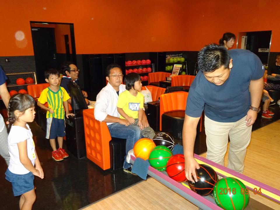 京都営業所にて従業員と家族含めてのボーリング大会を開催