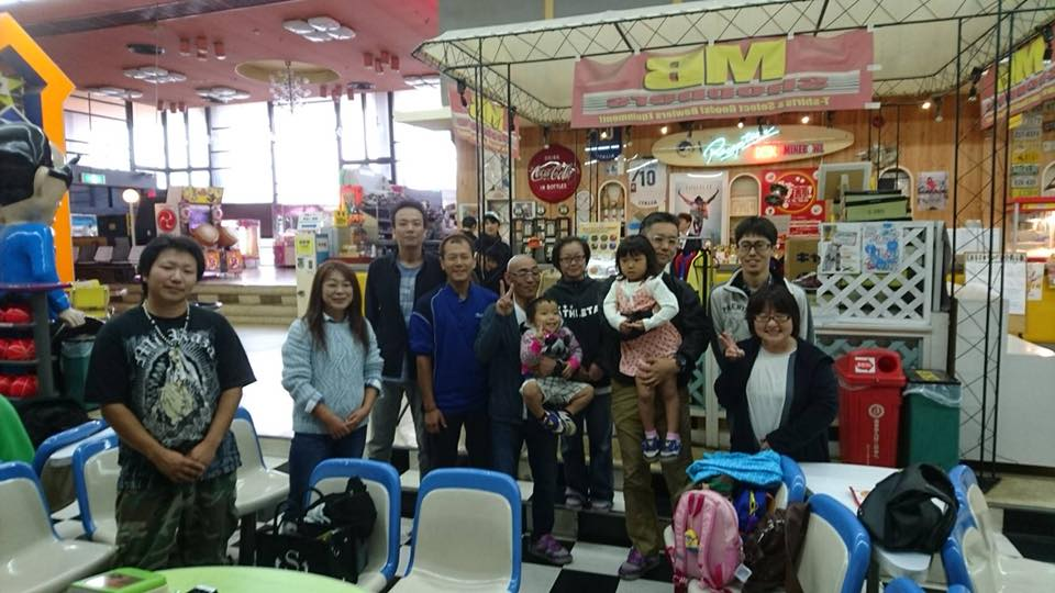10月22日神奈川営業所でボーリング大会を開催