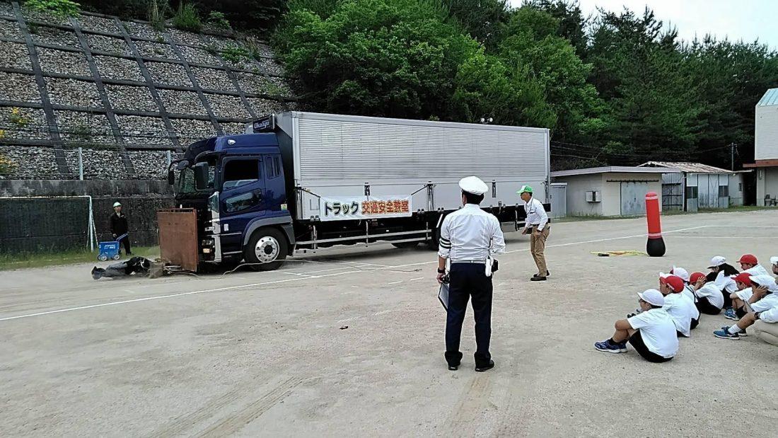平成30年5月29日今年初めての交通安全教室開催