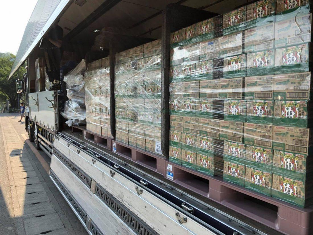 平成30年7月14日西日本豪雨被害支援物資