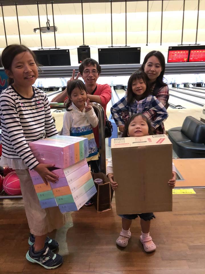 平成30年10月14日  岡田商運 鳥栖営業所のボーリング大会を開催