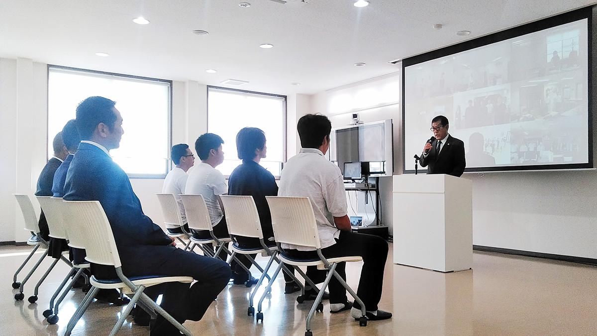 令和元年10月1日新入社員入社式