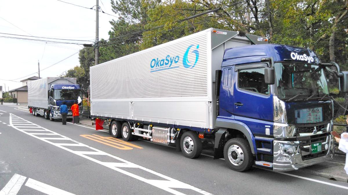 令和元年11月18日大型トラック4台納車