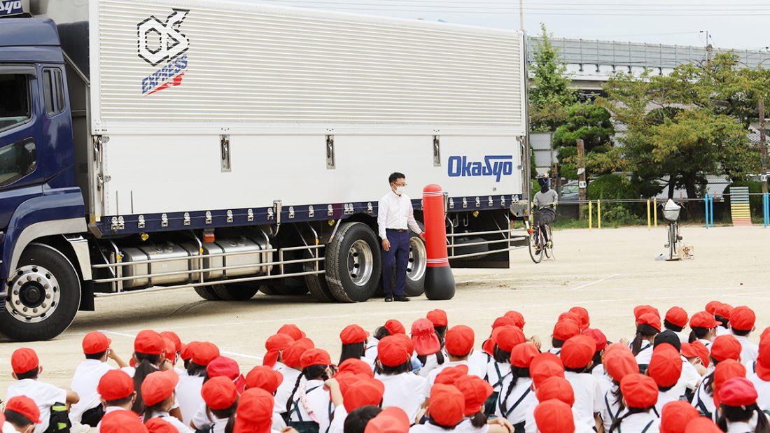 福浜小学校交通安全教室