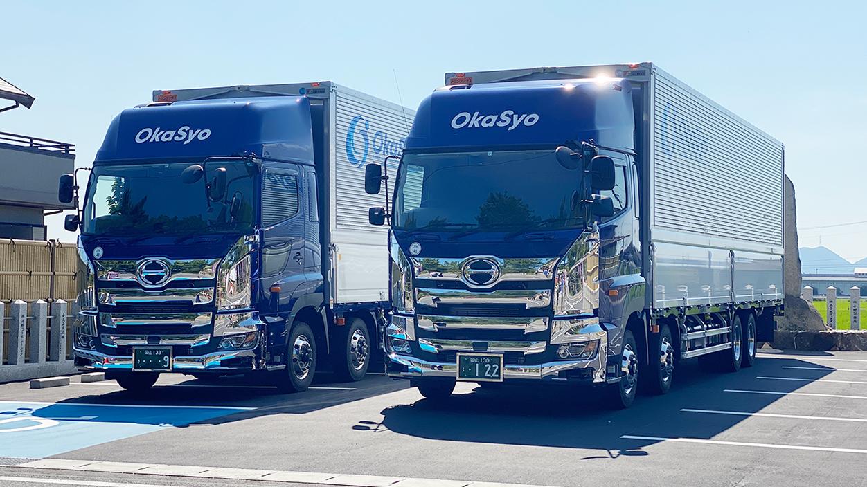 2021年7月27日大型トラック2台納車